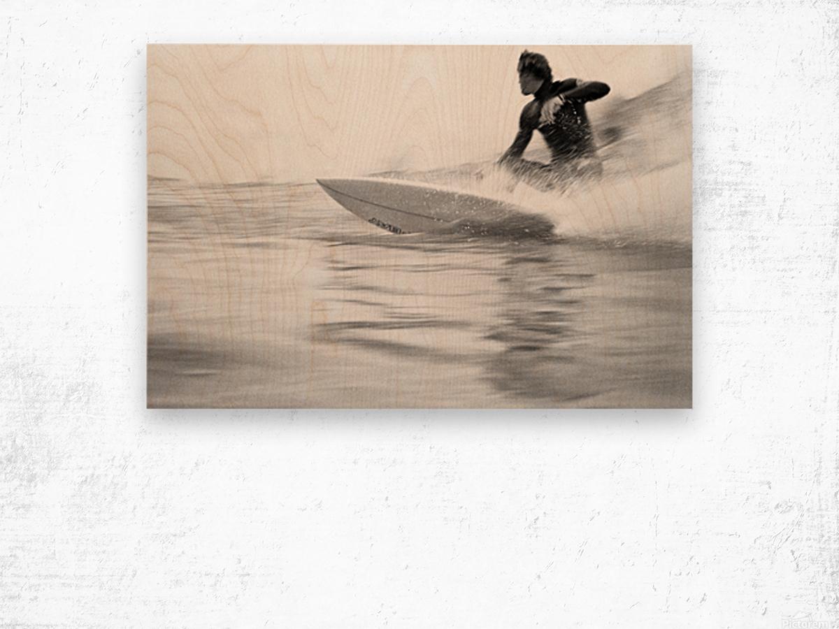 SURF STYLE Wood print
