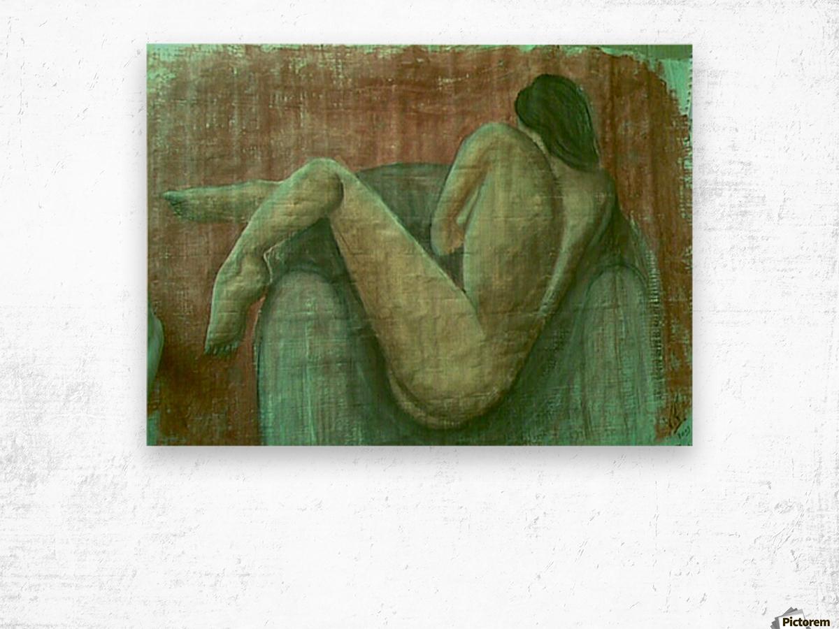 Nue Wood print