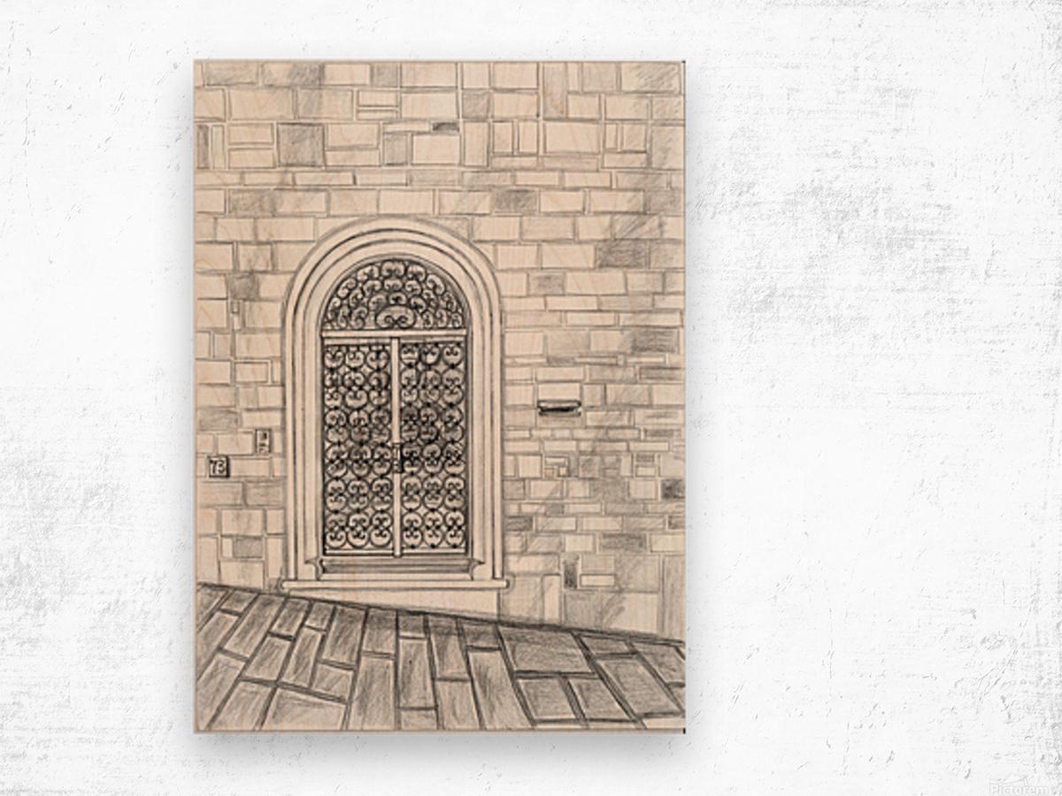 Porta Wood print