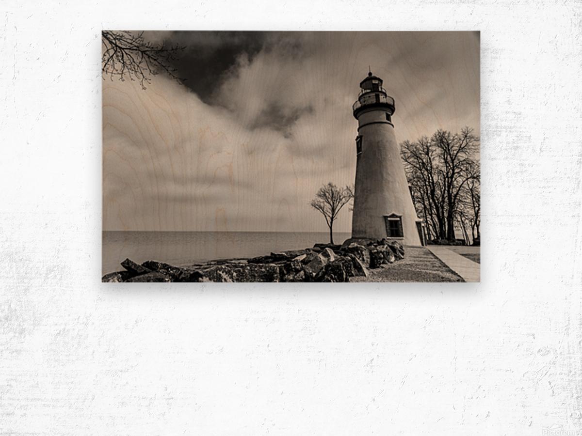 Marblehead Lighthouse 1 Wood print