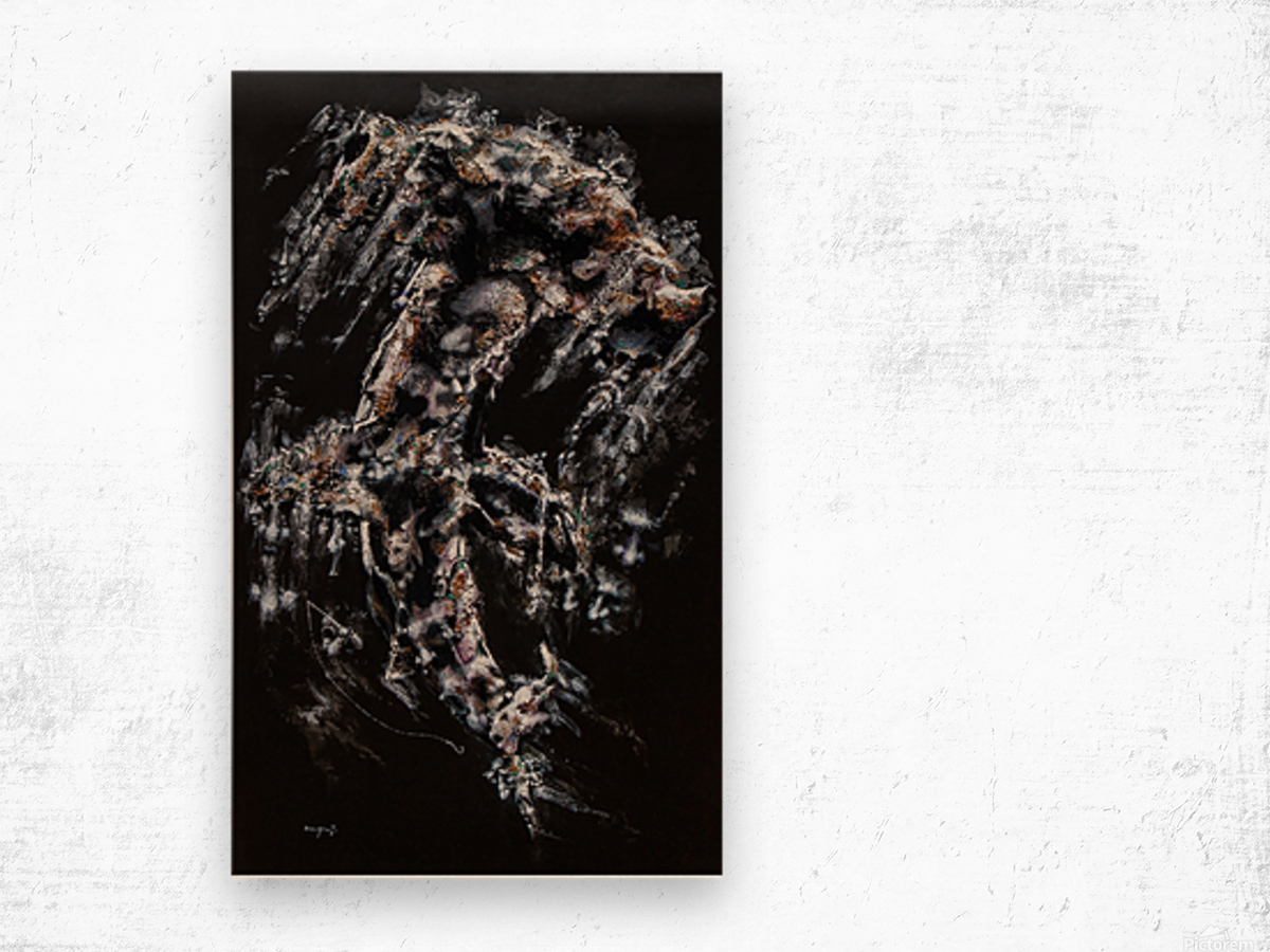 Hammer Head Shark Apparition  Wood print