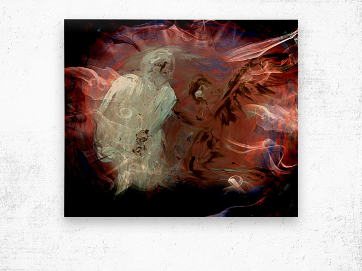 Bens Angel 10 Wood print