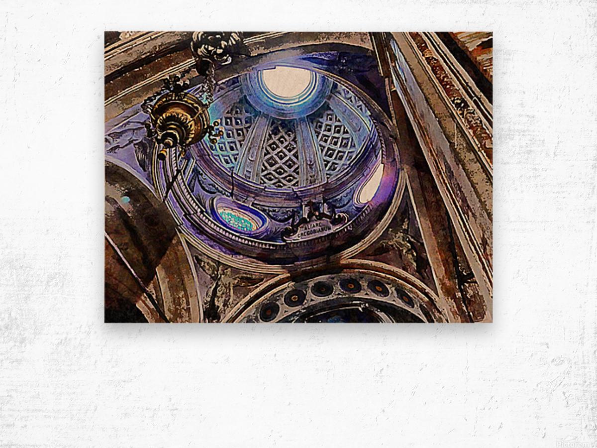 Altare Gregorianum Wood print