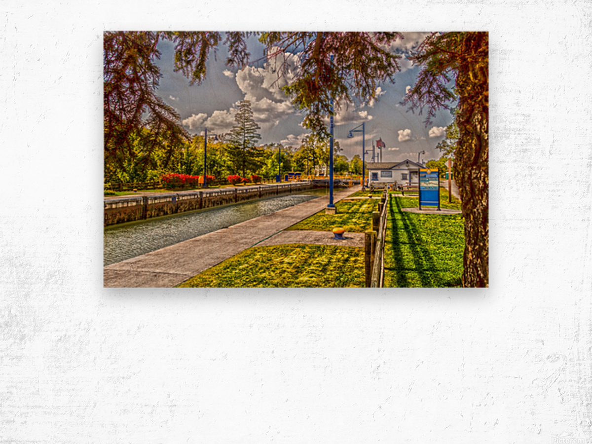 Lock 33 Park Wood print