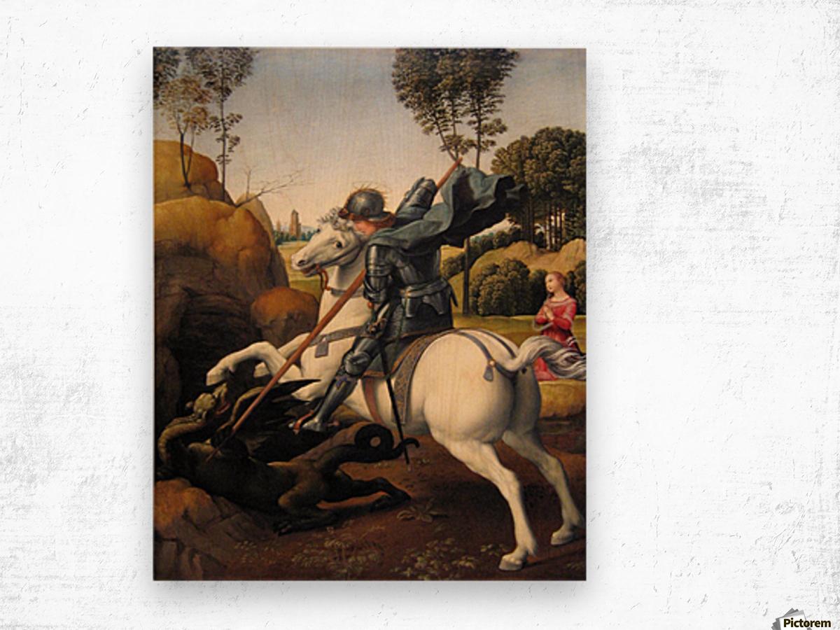 Art Canvas//Poster Print A3//A2//A1 Raphael St George /& The Dragon 1505