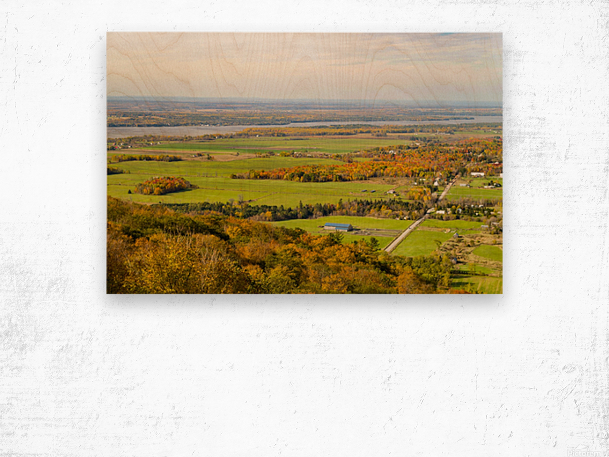 View of Ottawa Valley in Autumn17 Wood print