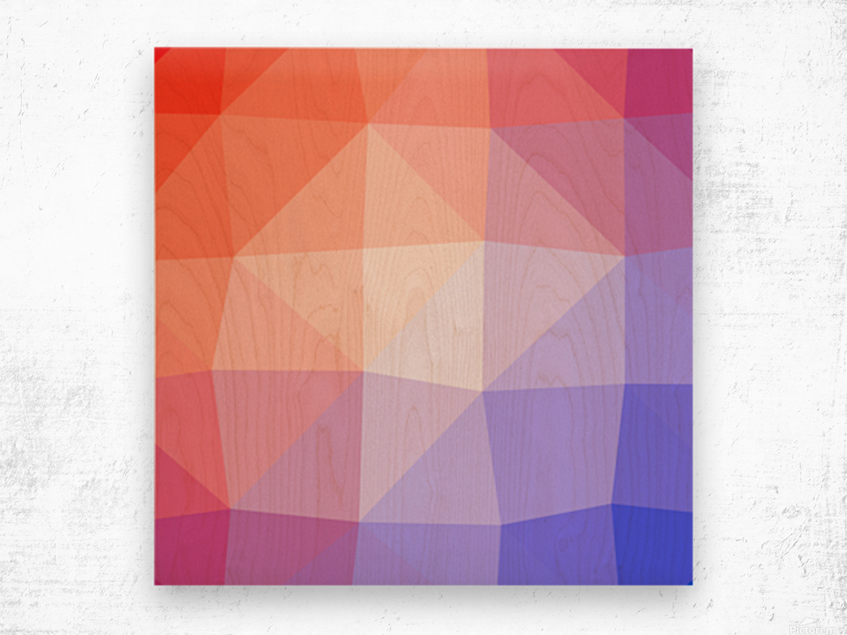 Abstract art patterns low poly polygon 3D backgrounds, textures, and vectors (2) Wood print