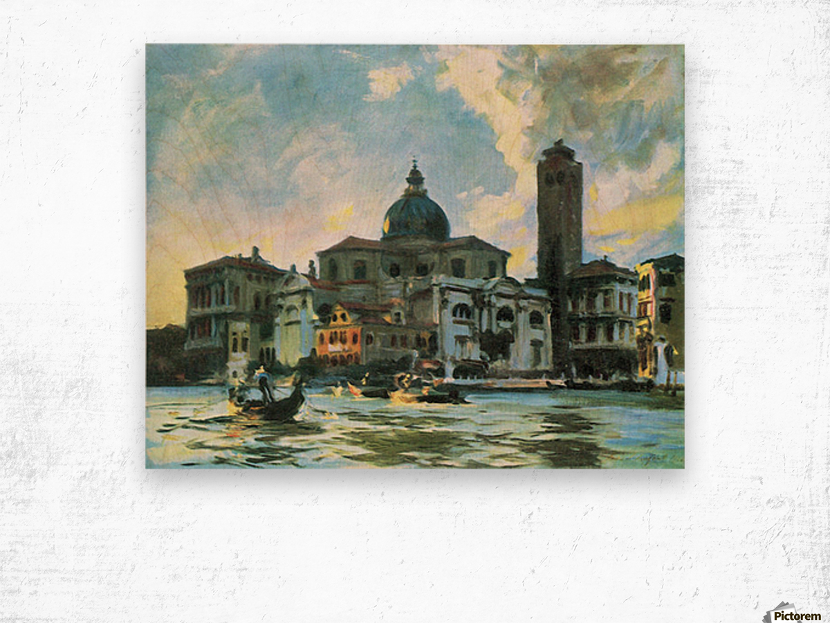 Palazzo Labia, Venice by John Singer Sargent Wood print