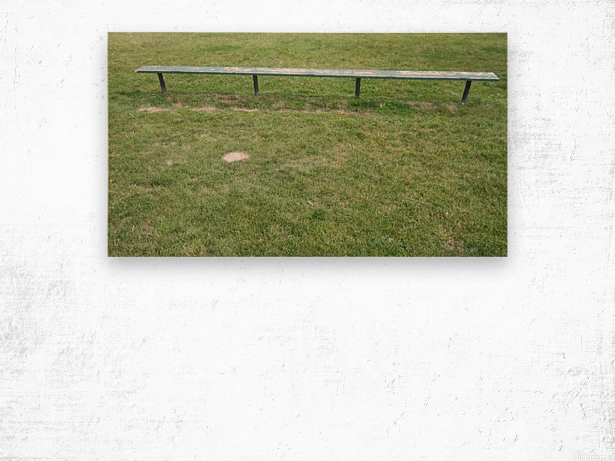Bench (35) Wood print