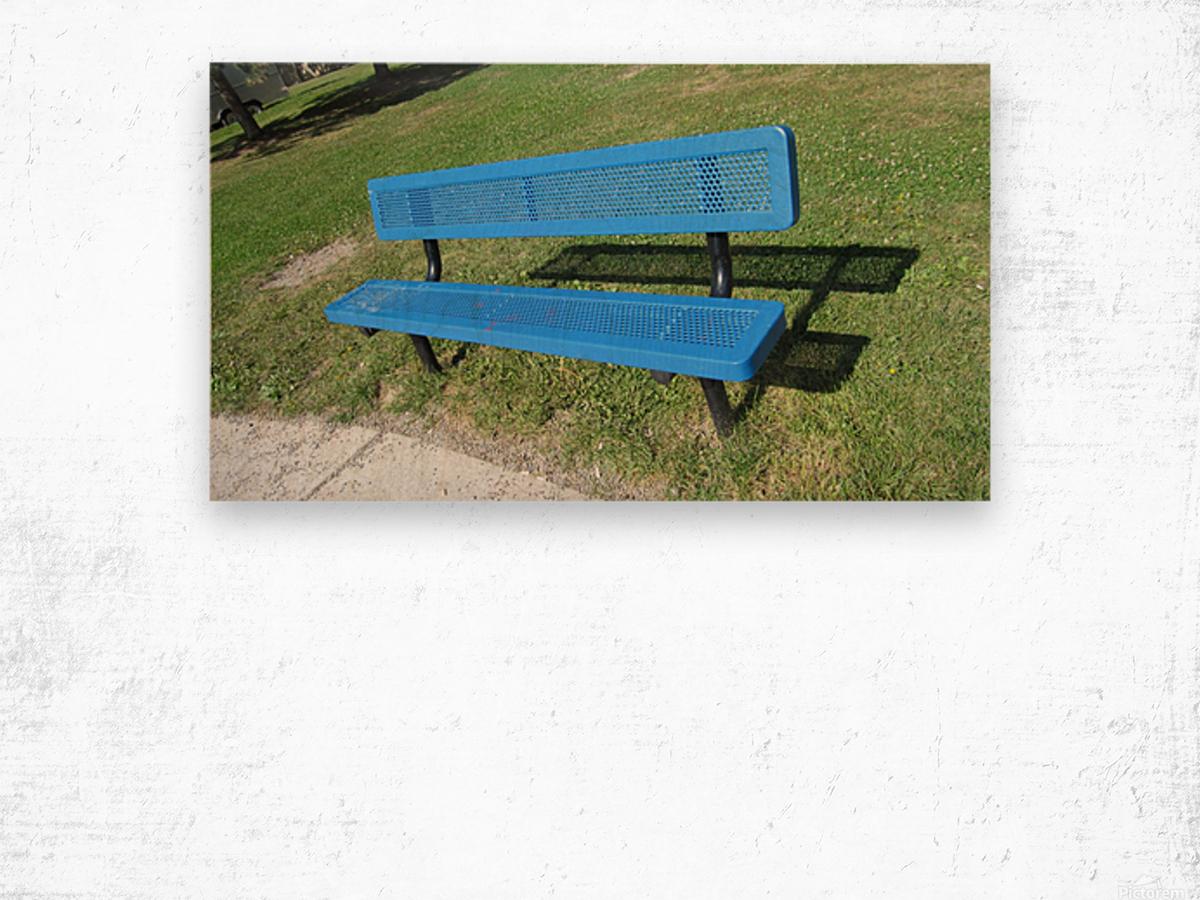 Bench (19) Wood print