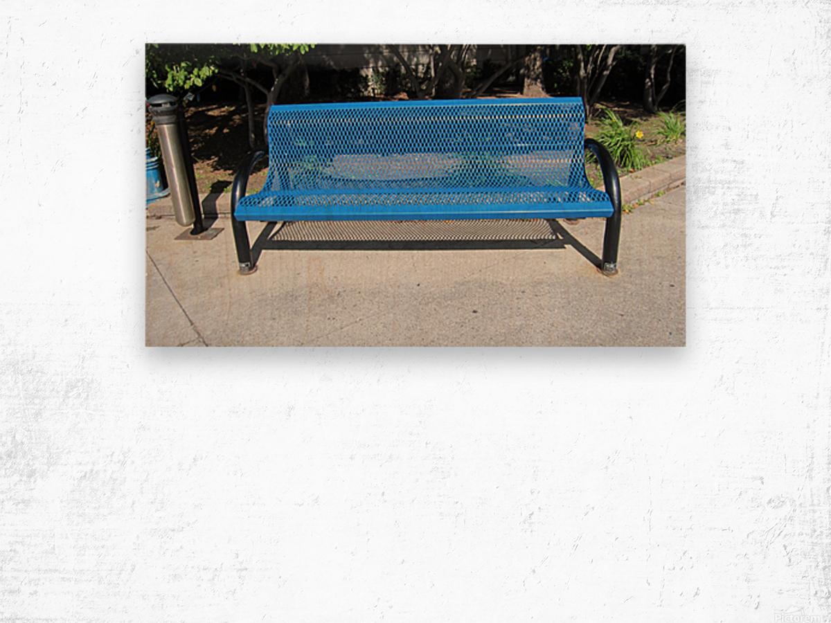 Bench (64) Wood print