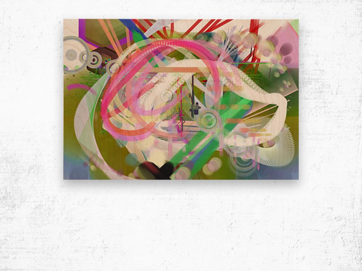 New Popular Beautiful Patterns Cool Design Best Abstract Art (3) Wood print