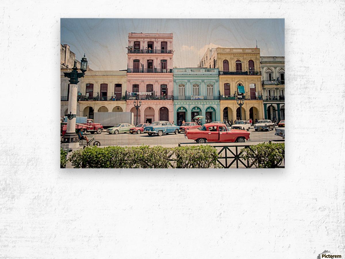 Cuba Wood print