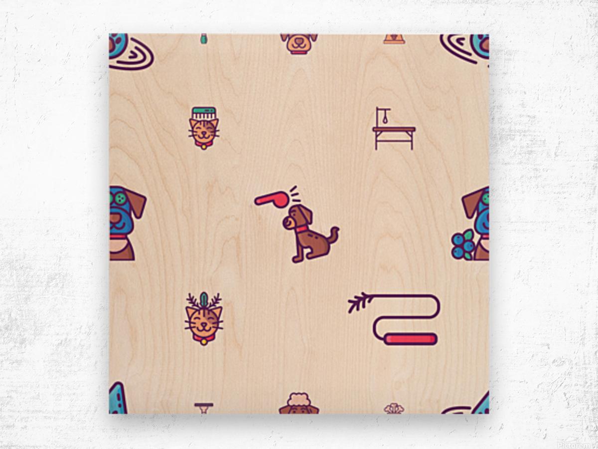 Dog (53) Wood print