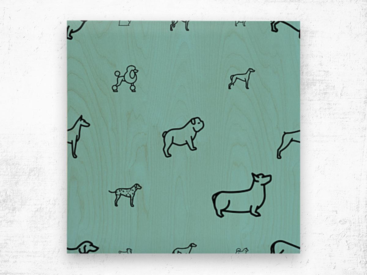 Dog (65) Wood print