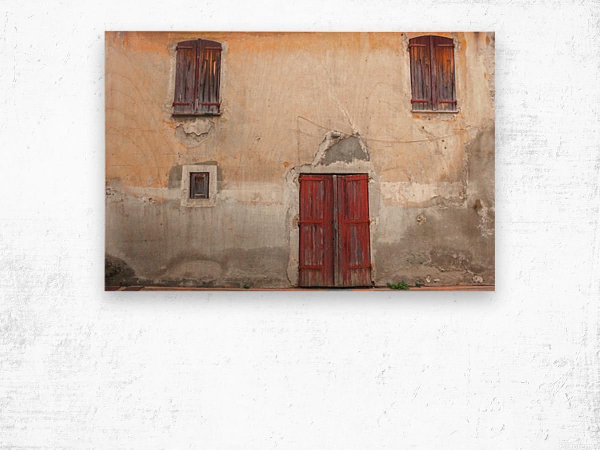 Corsica 12 Wood print