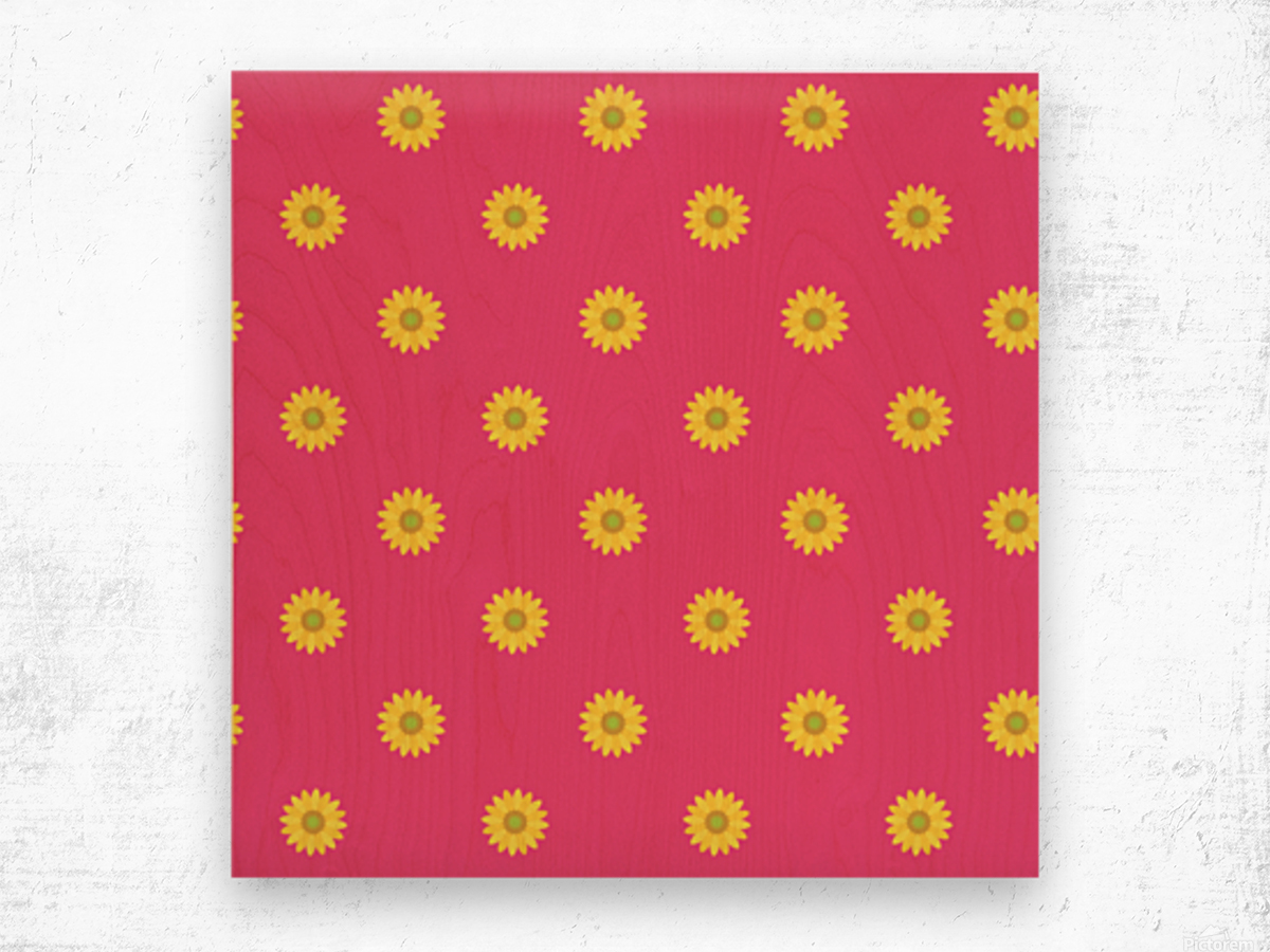 Sunflower (33)_1559875863.009 Wood print