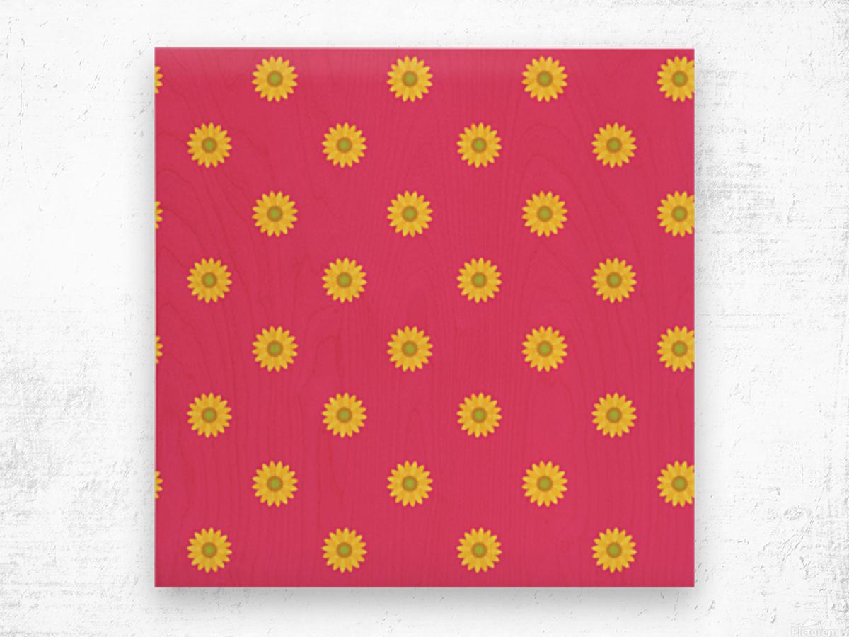 Sunflower (33)_1559876059.3562 Wood print