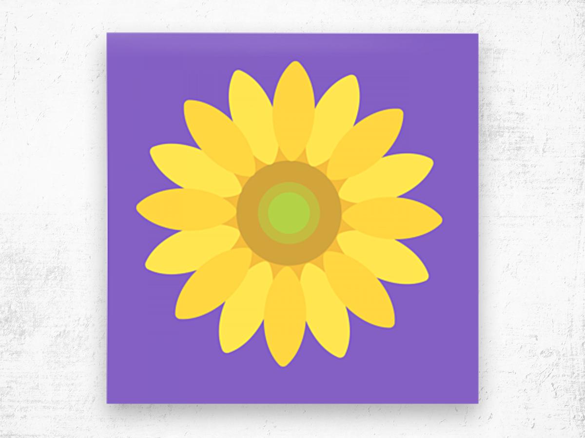 Sunflower (12)_1559875861.1864 Wood print