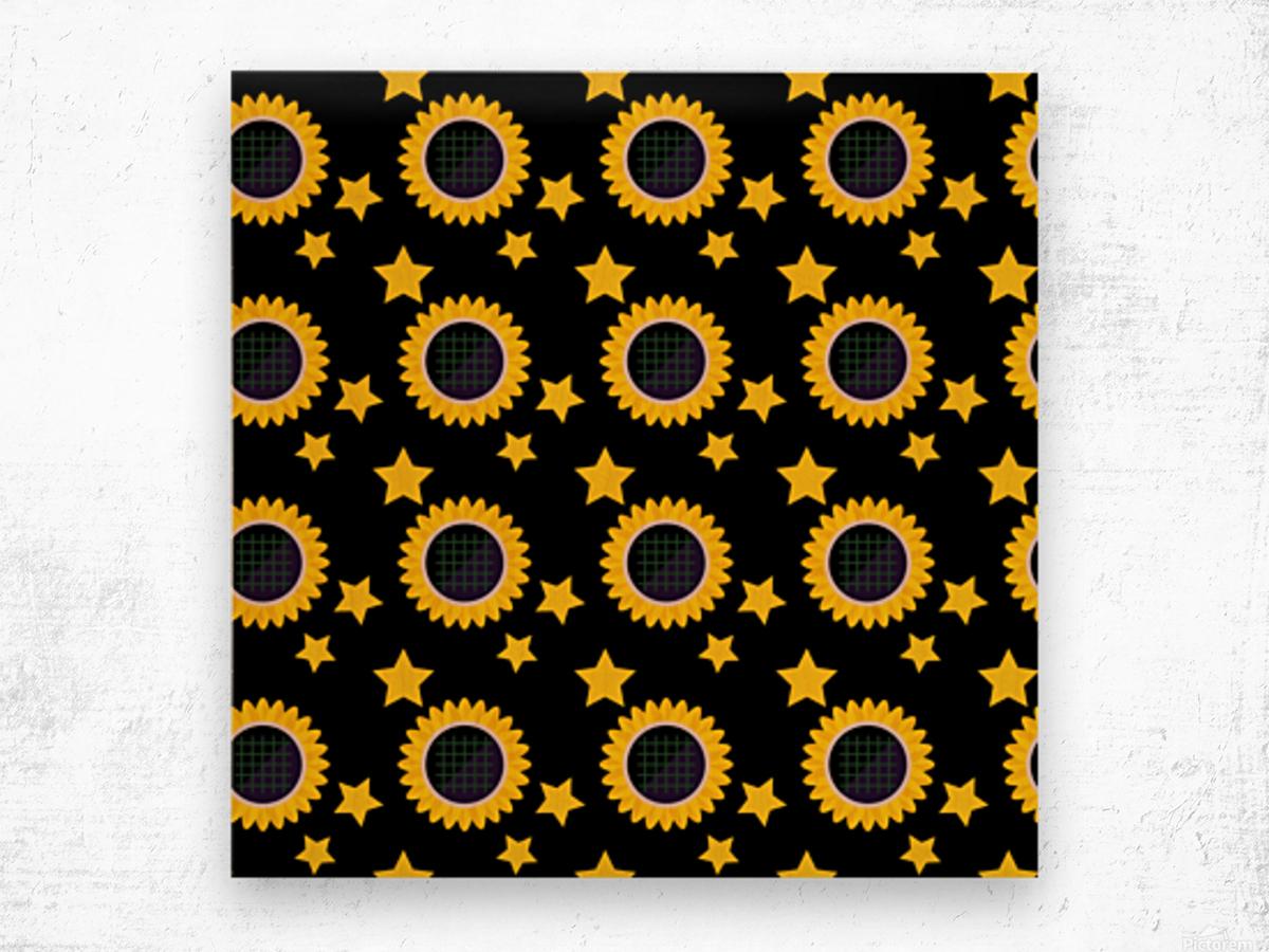 Sunflower (23)_1559876174.6454 Wood print