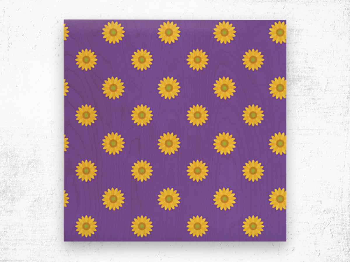 Sunflower (35)_1559876250.2006 Wood print