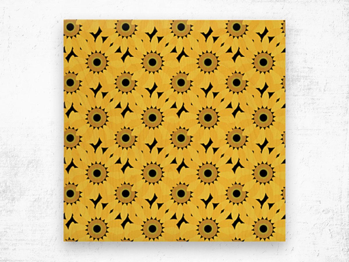Sunflower (45)_1559876382.1976 Wood print