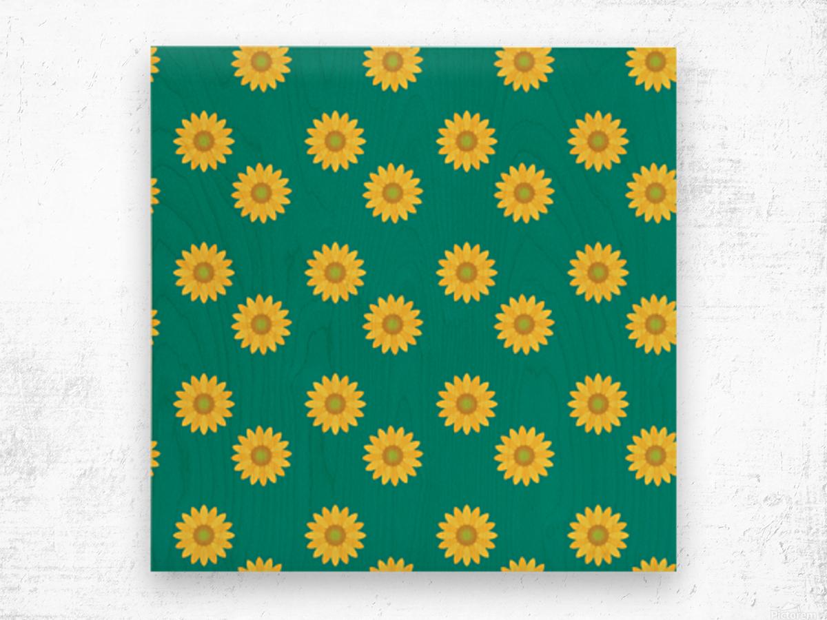 Sunflower (37)_1559876660.7811 Wood print
