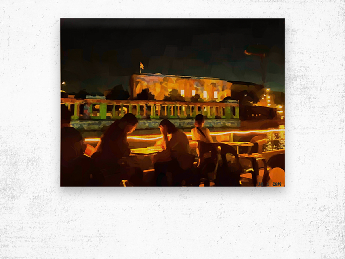 BERLIN_View  072 Wood print
