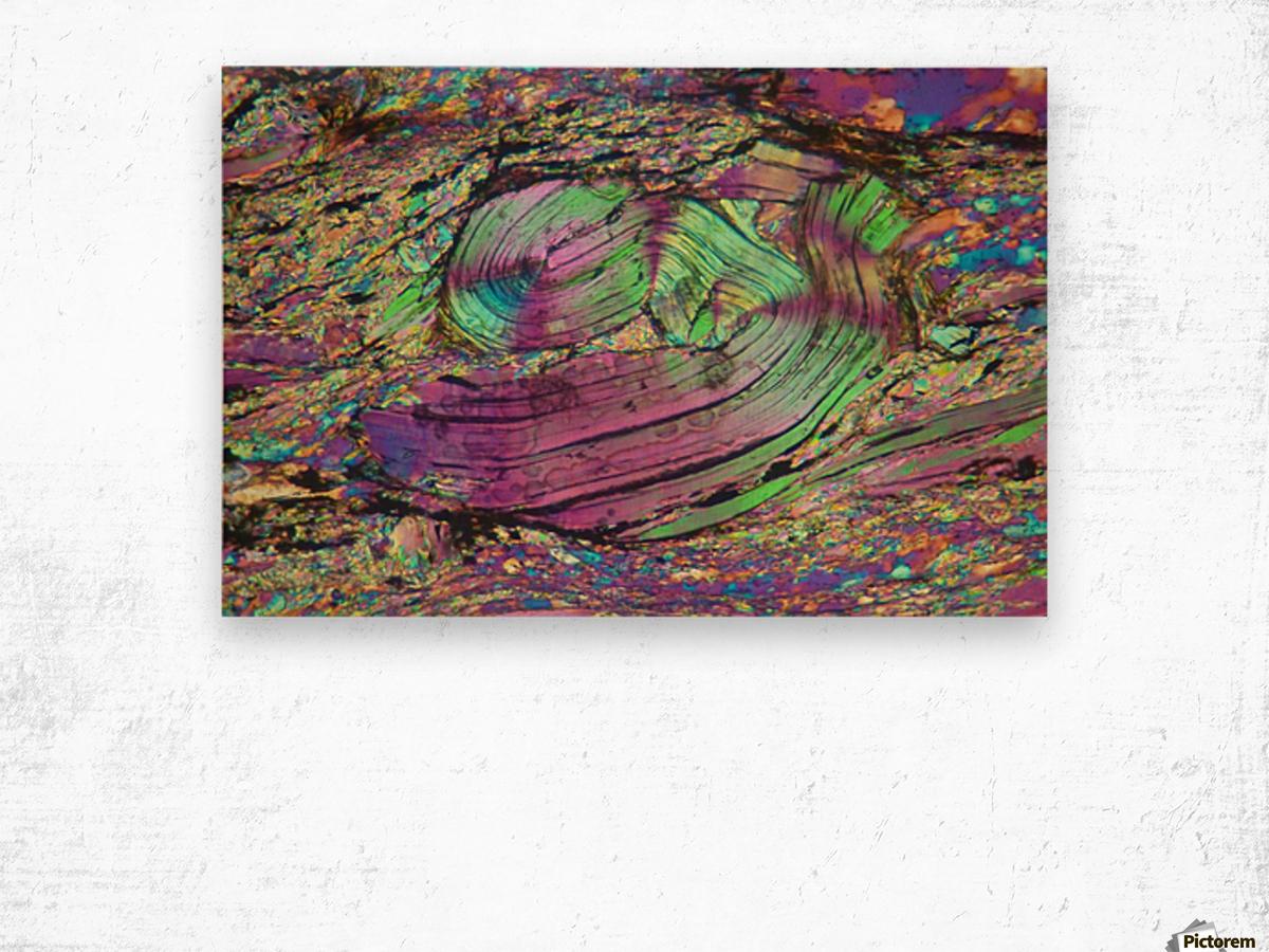 Twist Wood print