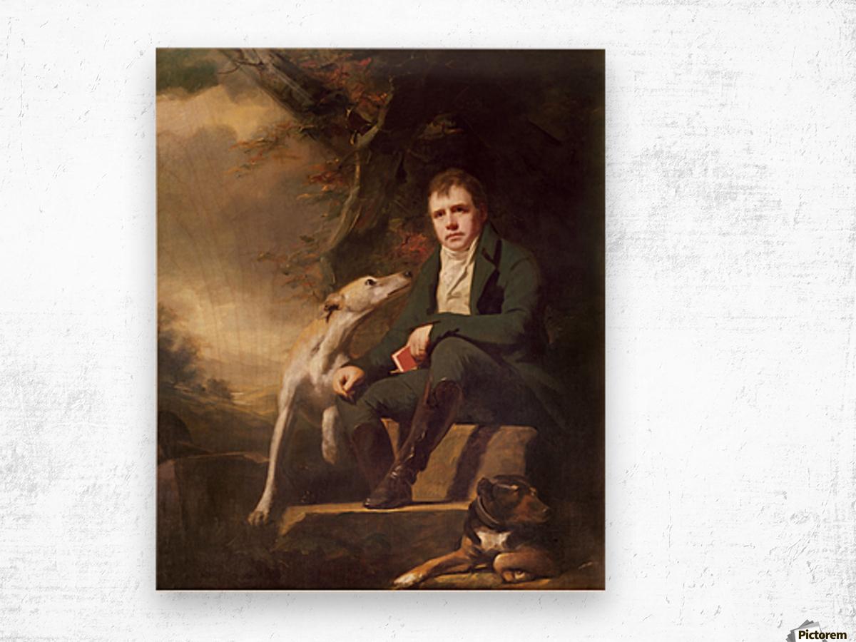 Sir Walter Scott Wood print