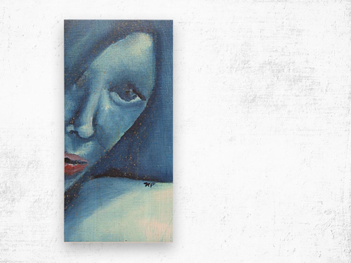 Selfportraitonefull Wood print