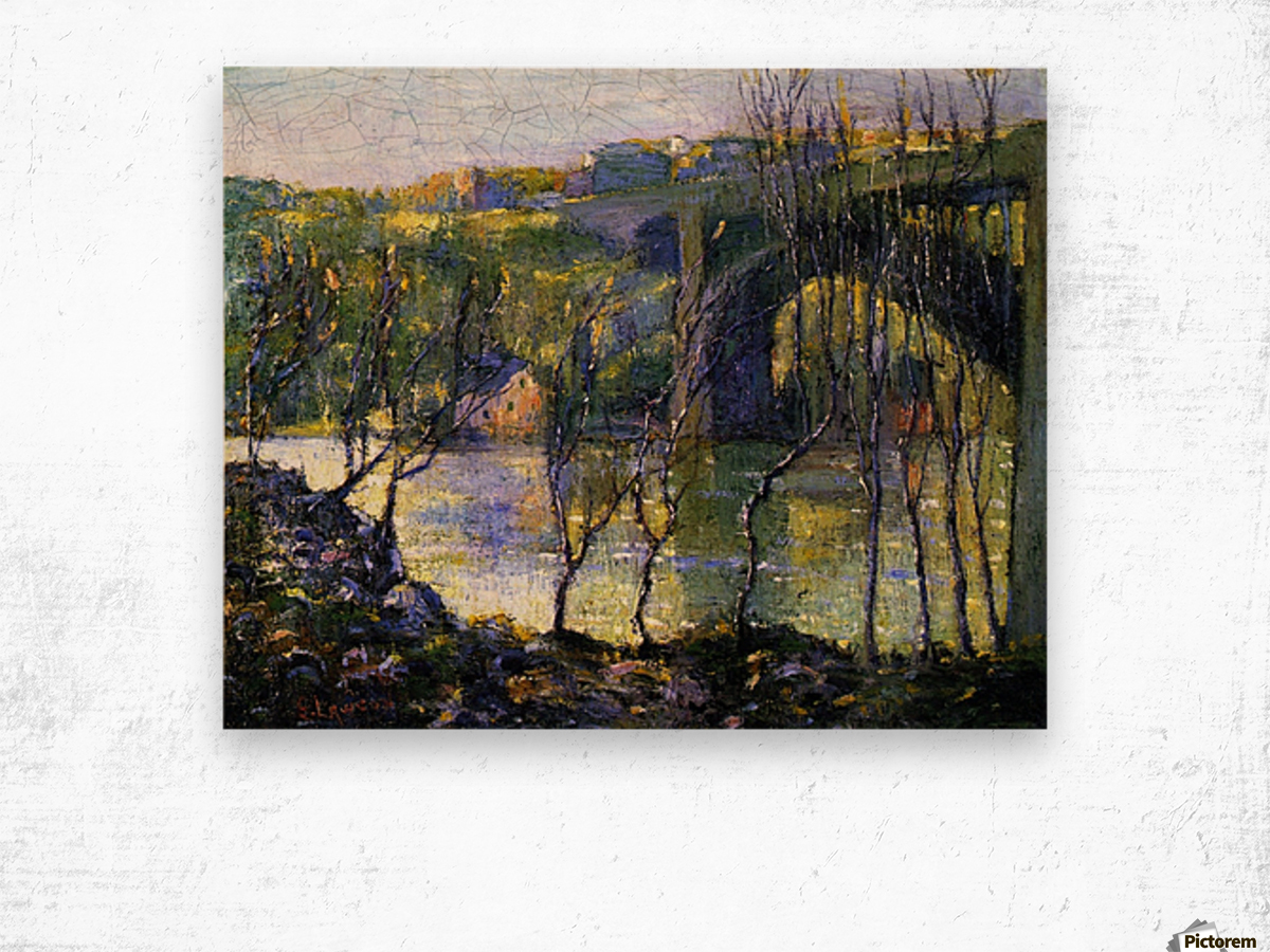 Bridge Harlem Wood print
