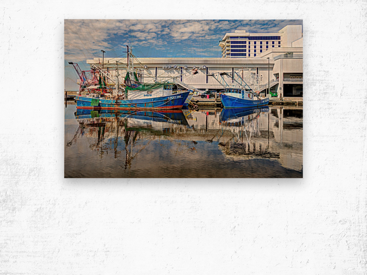 PAY DAY - NATURAL EFFECT - HDR Wood print