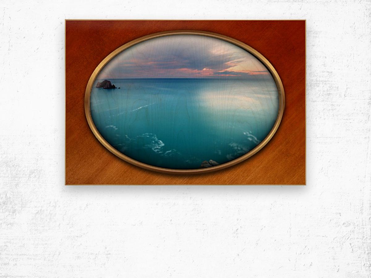 Landscape-10 Wood print