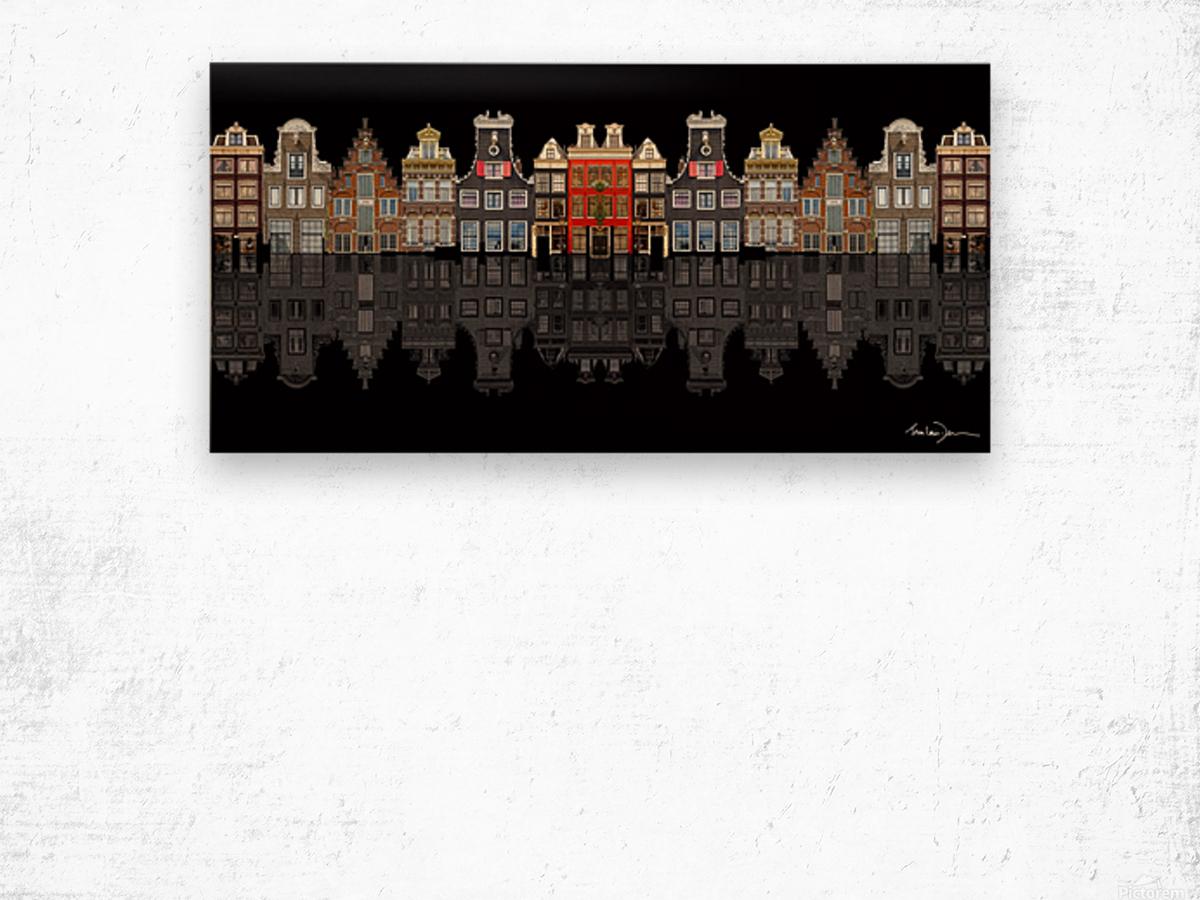 Amsterdam Wood print