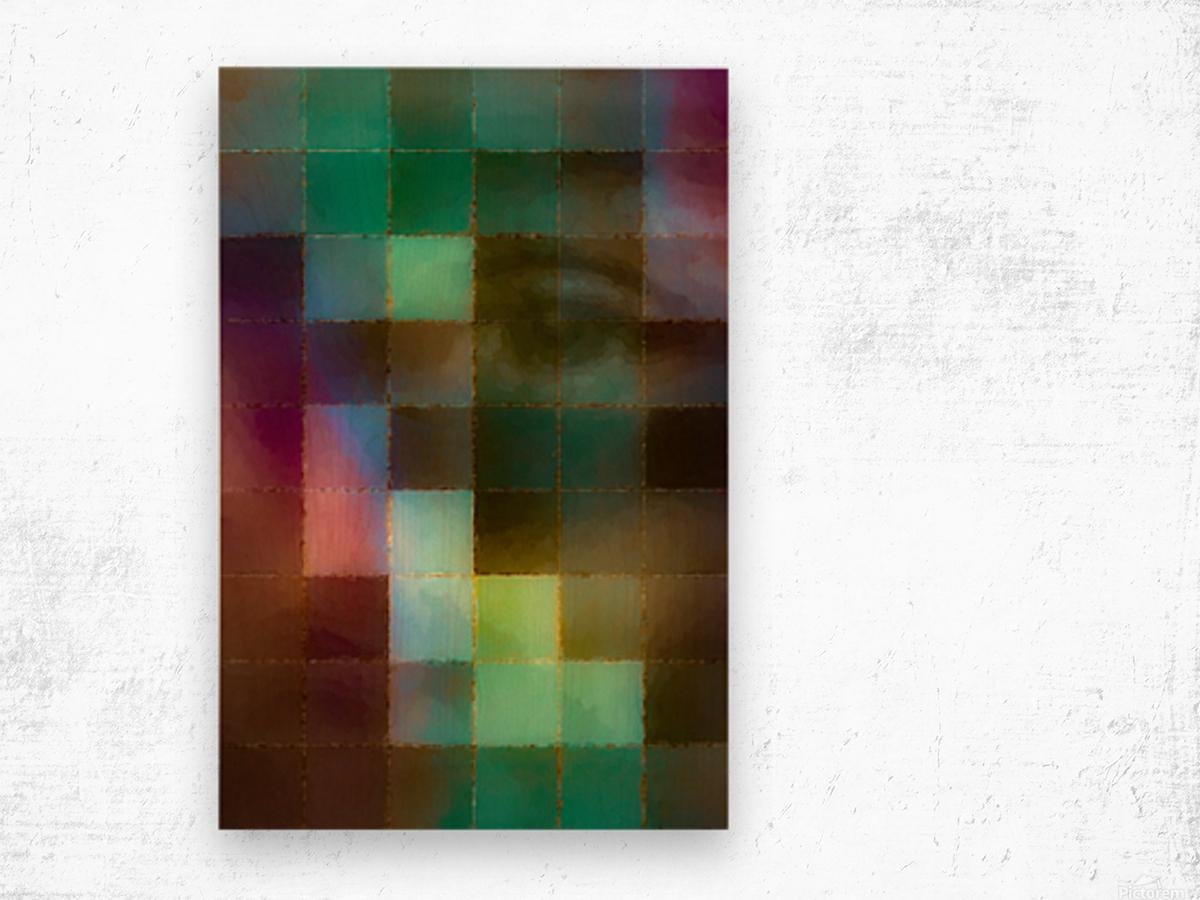 Lily Wood print