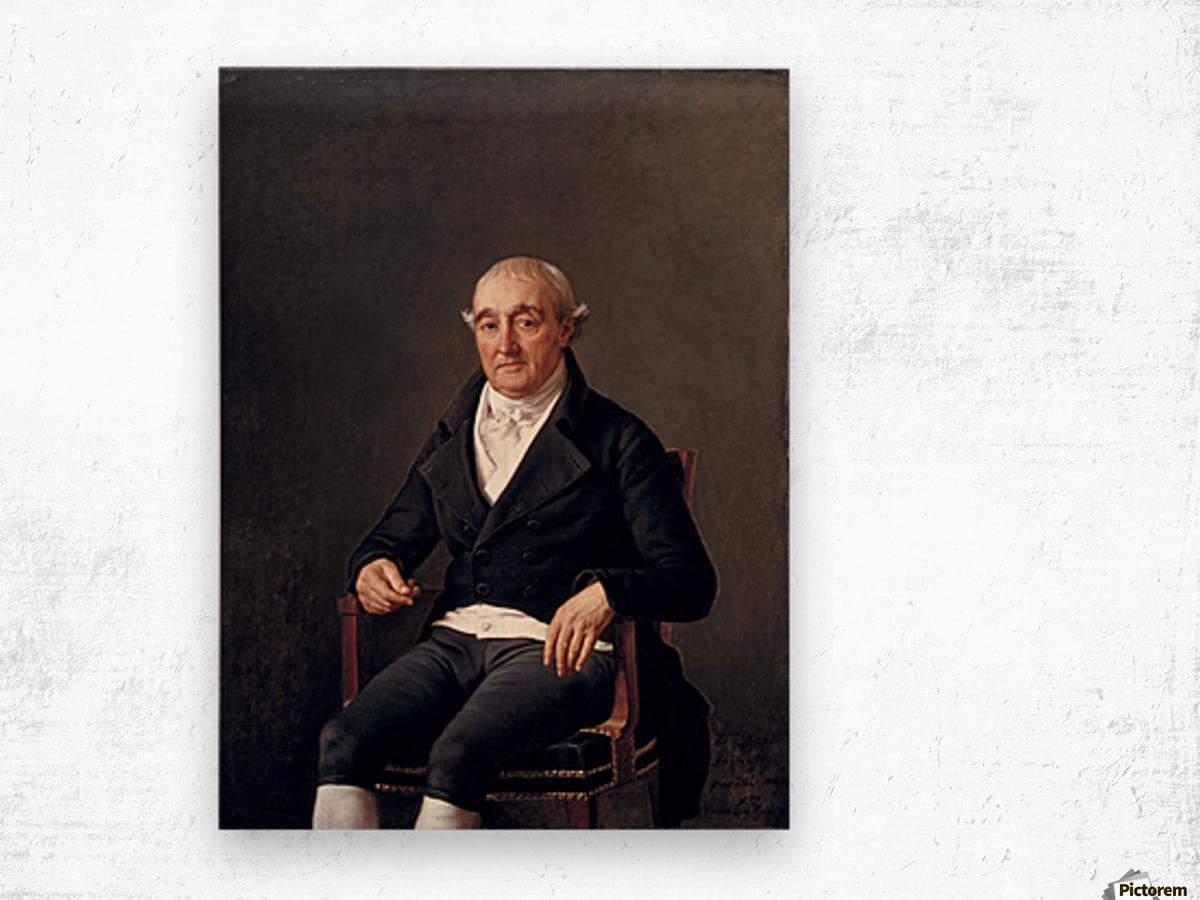 Mr.Cooper Wood print