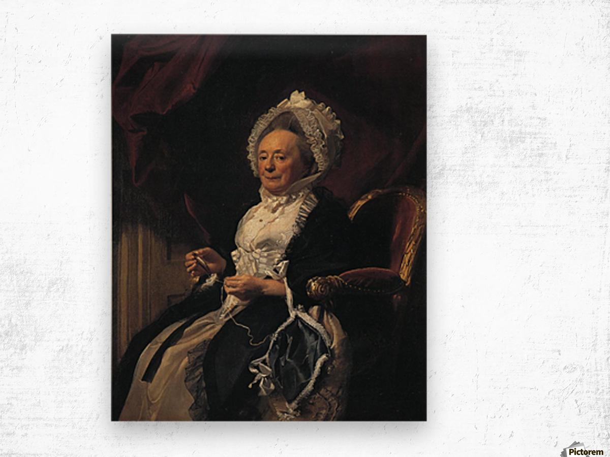 Mrs Seymour Fort Wood print