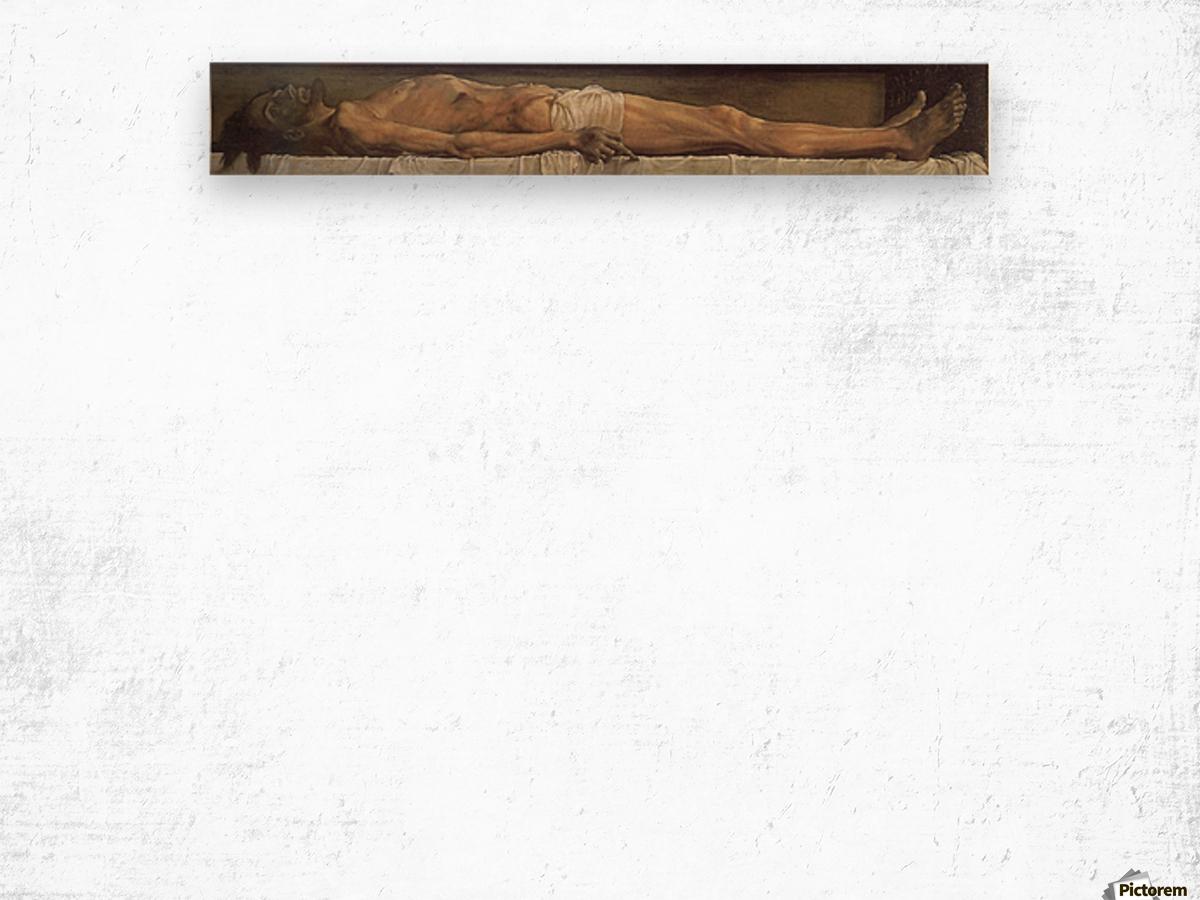 Death of Christ Wood print