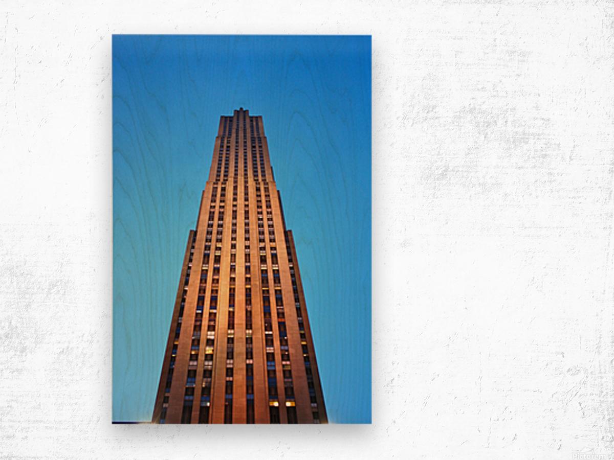 Rockefeller Wood print