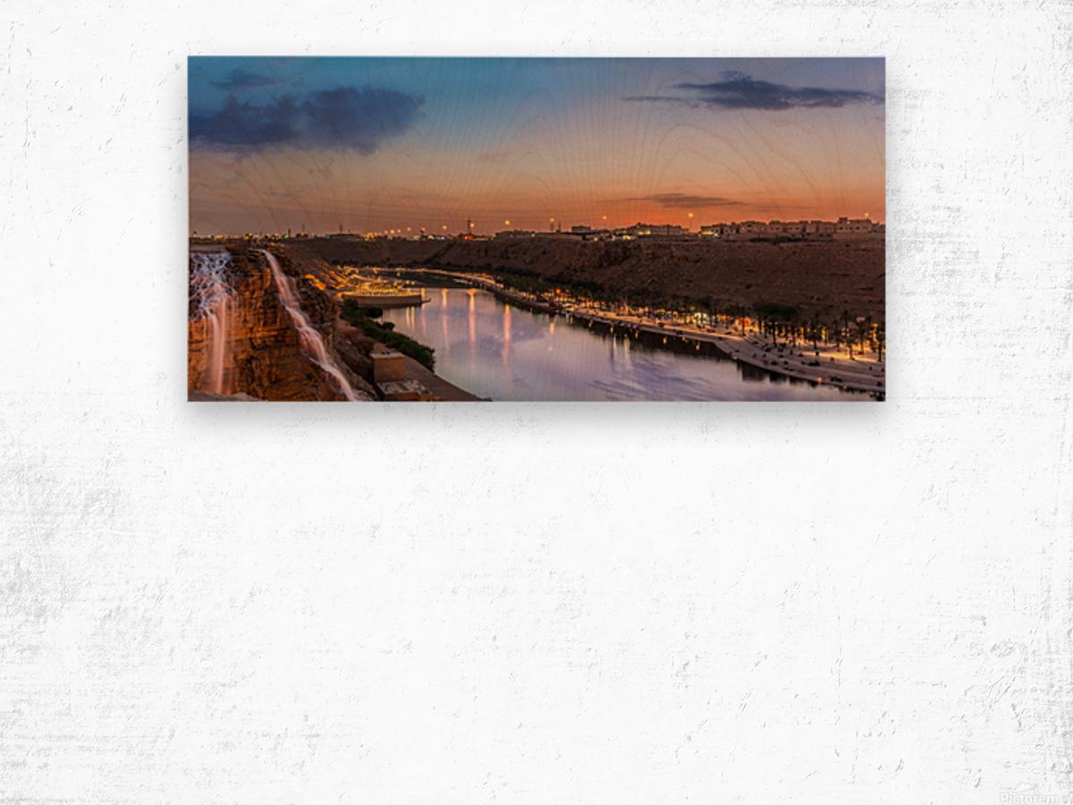 DSC_4609 Pano1 Wood print