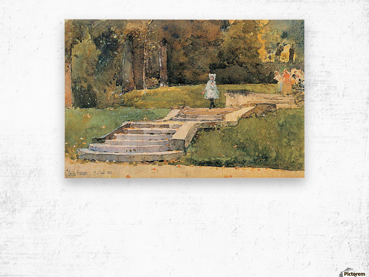 St. Cloud Mn. by Hassam Wood print