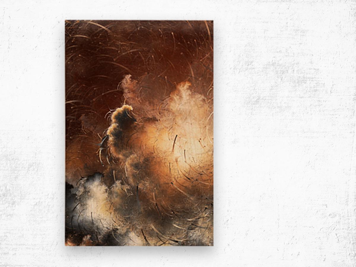 Dark Skies of the Soul Wood print