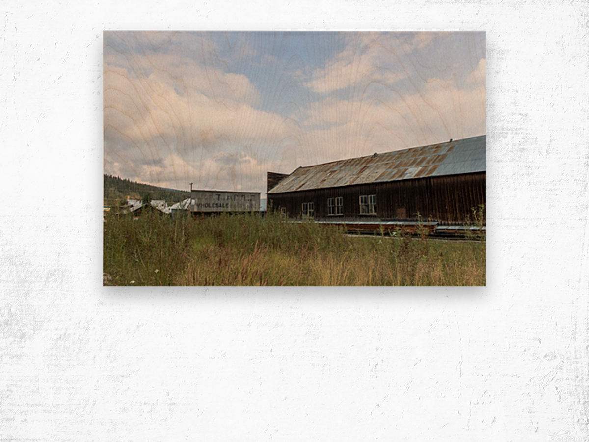 Dawson City, YT   19 Wood print
