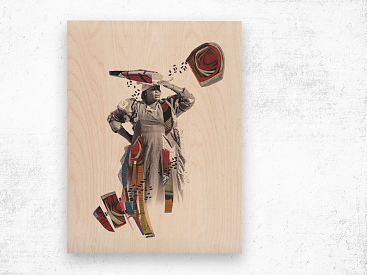 Herero woman 1 Wood print