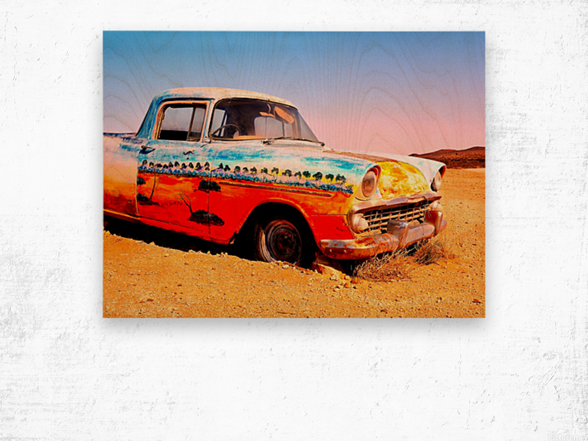 Quirky Sights of the Outback 4 Wood print