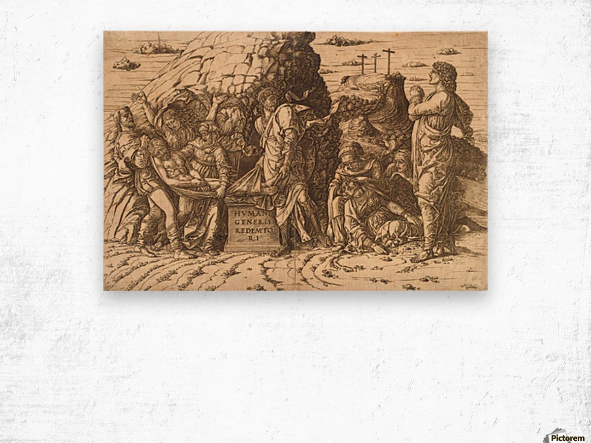 Entombment Wood print