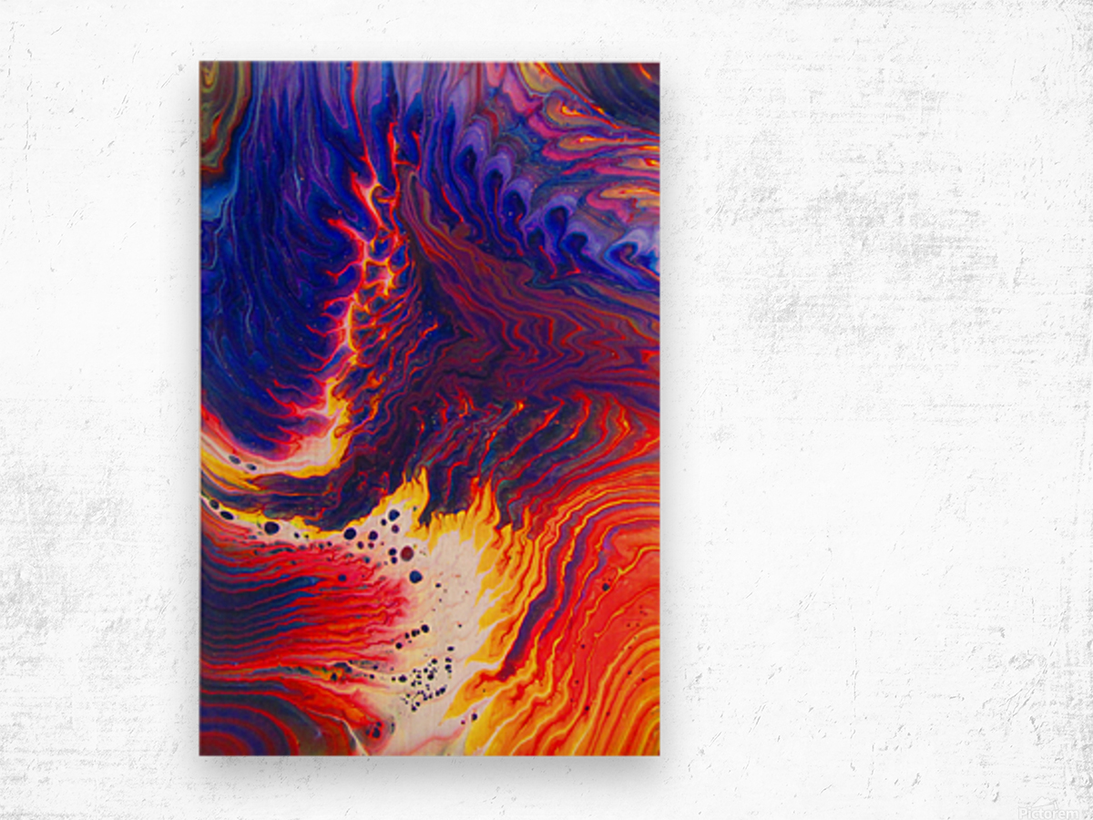 Kindle Your Inner Flame Wood print