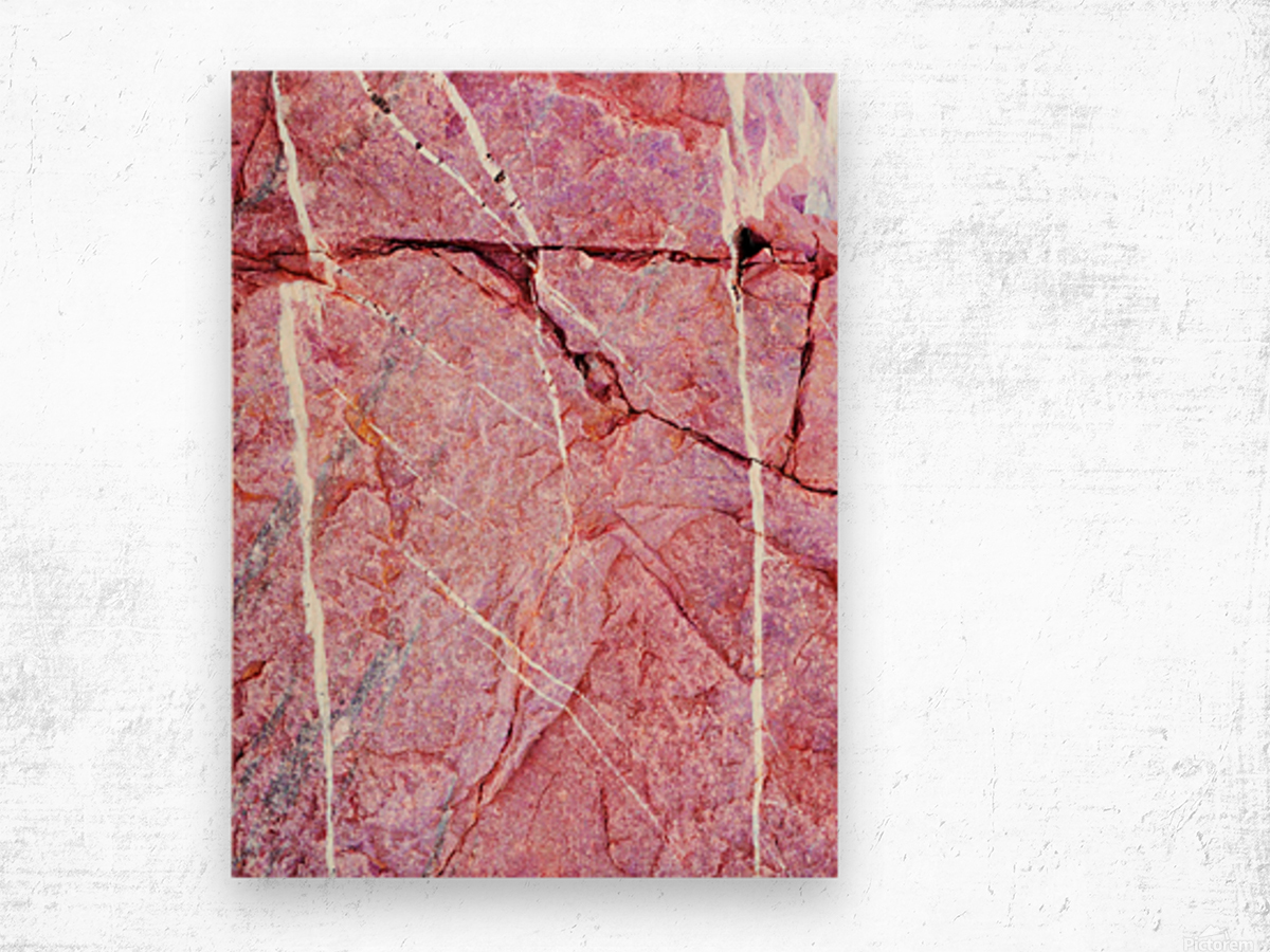 Australia Rocks - Abstract 7 Wood print