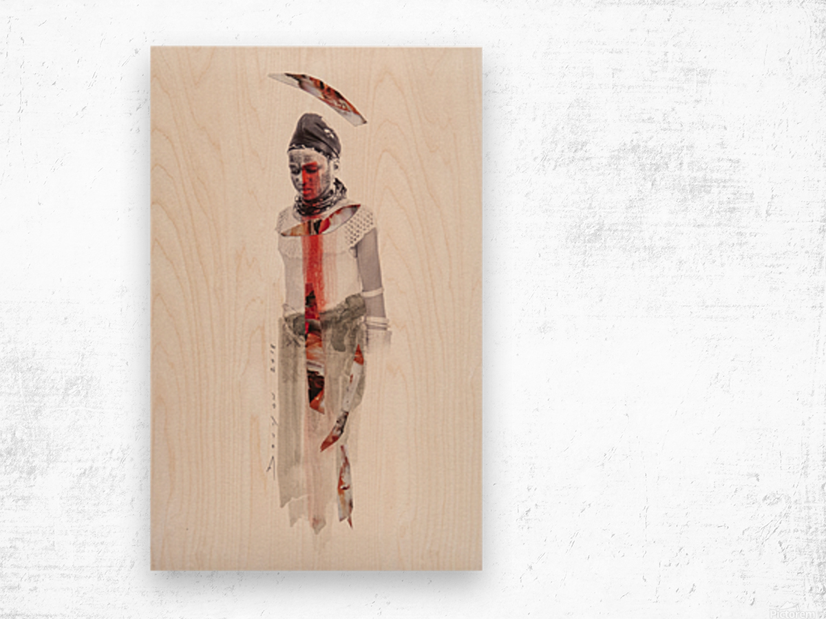 amazing grace4 Wood print